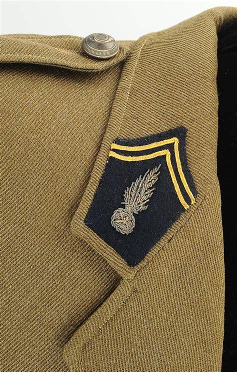 Pied De Le 1939 by Tunique D Un Capitaine De Chasseurs 192 Pied Ou Alpin