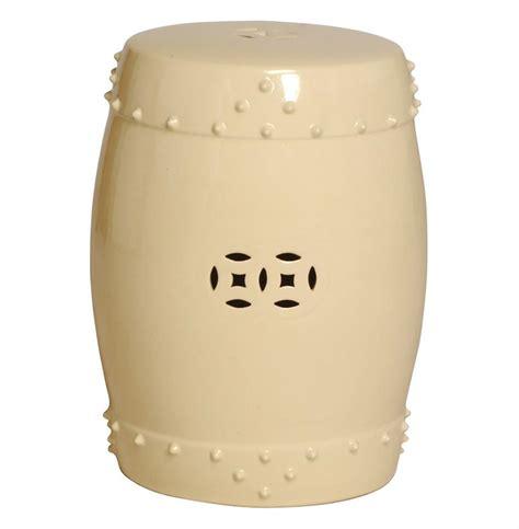 Ivory Garden Stool classic prosperity ivory ceramic pierced garden seat