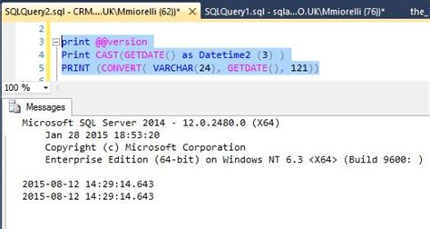 format date without time sql how to print getdate in sql server with milliseconds in