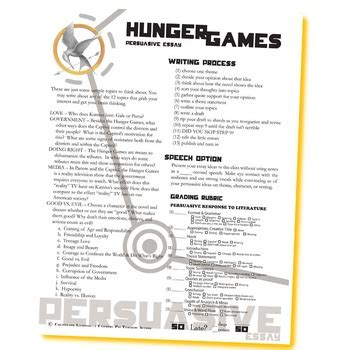 The Hunger Essay by The Hunger Essay Prompts 12 Themes By Created For Learning