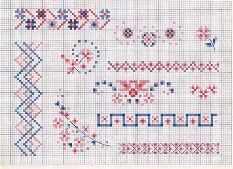 punto croce cornici cornici 073 schema da ricamare a puntocroce