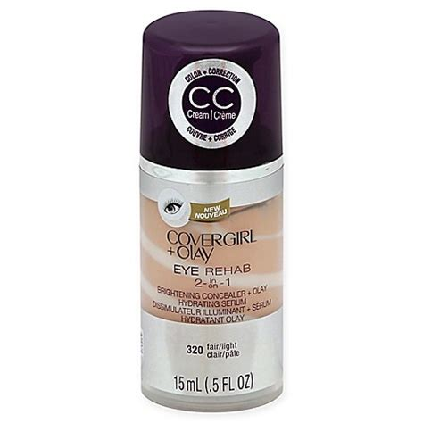 Olay Concealer covergirl 174 olay 174 eye rehab concealer in fair light bed