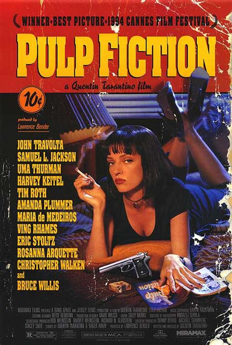 quentin tarantino film posters pulp fiction movie posters at movie poster warehouse