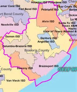 brazoria map schools in brazoria county