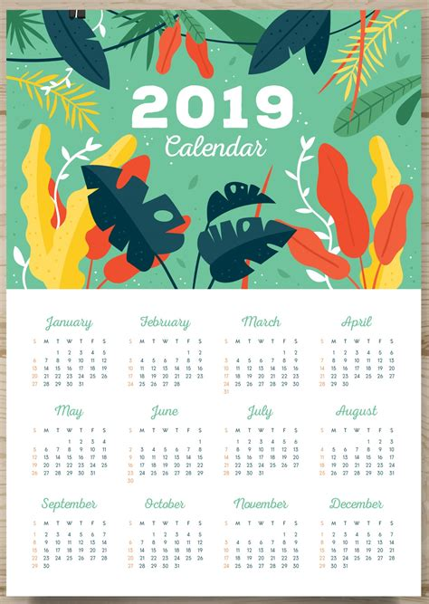 school calendars 2018 2019 as free printable word templates