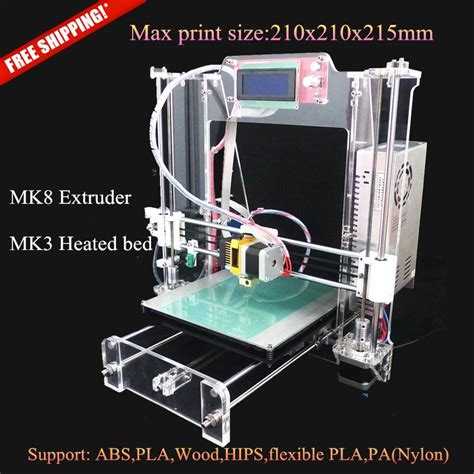 Diy 3d Tronxy Y Axis Heat Bed Support Acrylic 7mm top 10 affordable reprap prusa i3 kits for sale 400 at 3d printers store 3dprint
