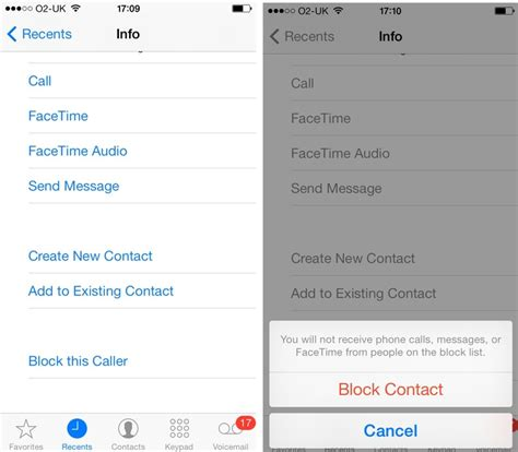 how to block a number on an iphone in ios 8 and ios 7 how