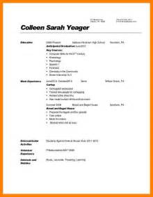 Resume Sample With Expected Graduation Date 9 resume expected graduation date basic resume layouts
