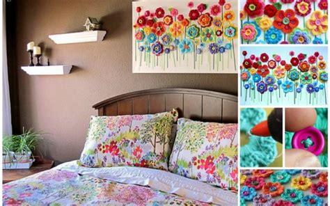 membuat jemuran baju dinding kanvas dan kancing baju bisa membuat dinding polos jadi