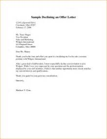 cover letter for offer write cover letter offer letter sle of offer