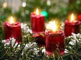 composizione candele mandami un fiore composizioni con candele e fiori per natale