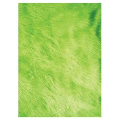 green accent rug la rug flokati lime green 2 ft 7 in x 3 ft 11 in