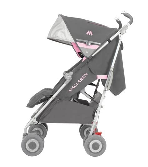 mclaren car seat stroller maclaren techno xlr stroller dove orchid smoke