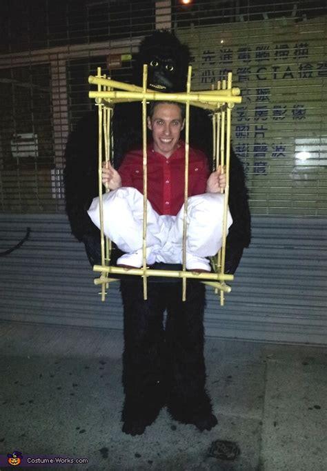 gorilla man   cage diy halloween costume
