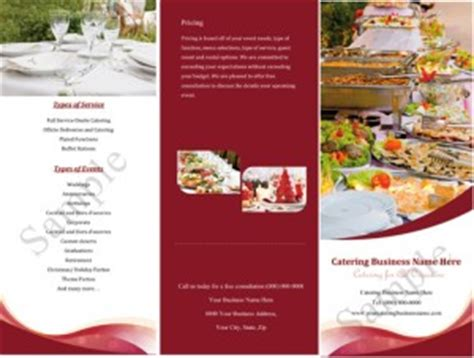 Catering Brochure Templates by Catering Companies For Quotes Quotesgram