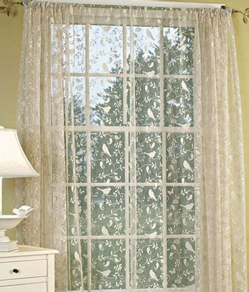 Lace Curtains Rue De France Decorating Pinterest