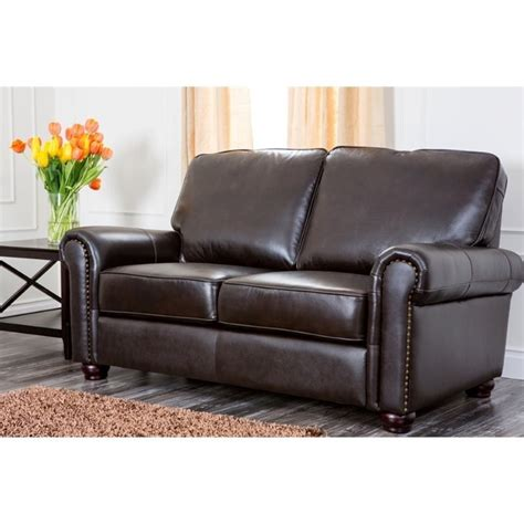 where to buy sofas in london abbyson living london 2 piece leather sofa set in dark