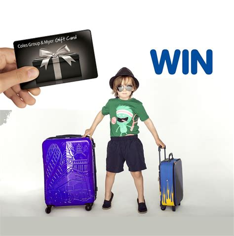 Coles Myer Gift Card Discount - 48 hour giveaway 3 x coles myer gift cards to win let s go mum family travel