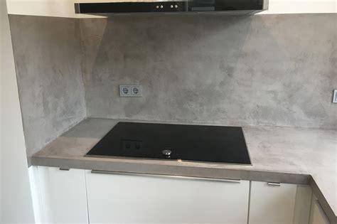 beton cire arbeitsplatte arbeitsplatte beton dockarm