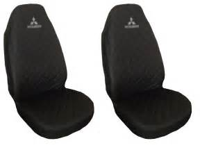 Seat Covers For Mitsubishi Pajero Front Seat Covers Mitsubishi L200 Pajero Shogun Ebay