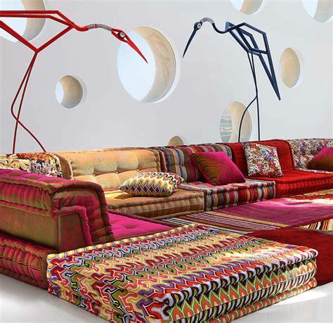 bohemian sofa bohemian living room roche bobois mah jong modular sofa