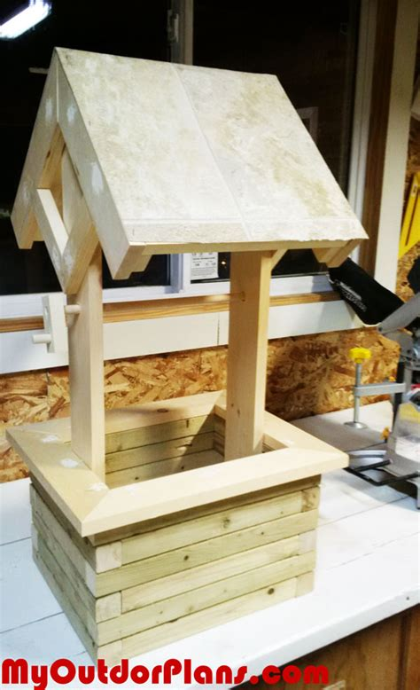 diy woodwork projects free diy wishing well planter myoutdoorplans free woodworking plans and projects diy shed