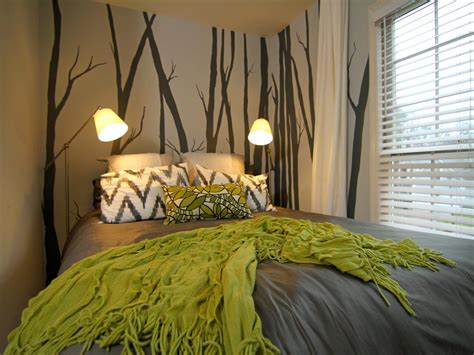 gray and green bedroom photos hgtv