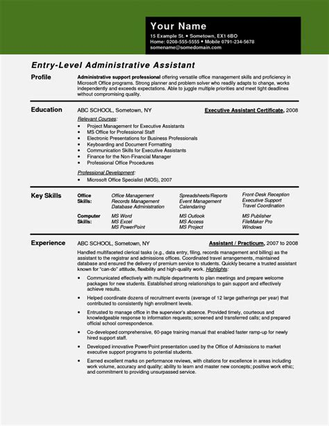 advertising administrative assistant resume resume