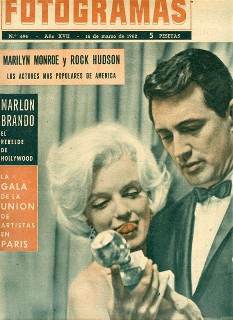Hudson On The Cover Of Magazine by 407 Best Marilyn Magazine Covers Images On
