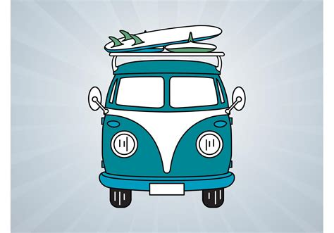 volkswagen clipart volkswagen bus vector download free vector art stock