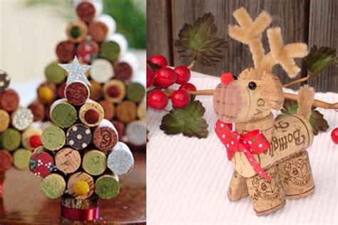 adornos de navidad con tapones de corcho manualidades f 225 ciles