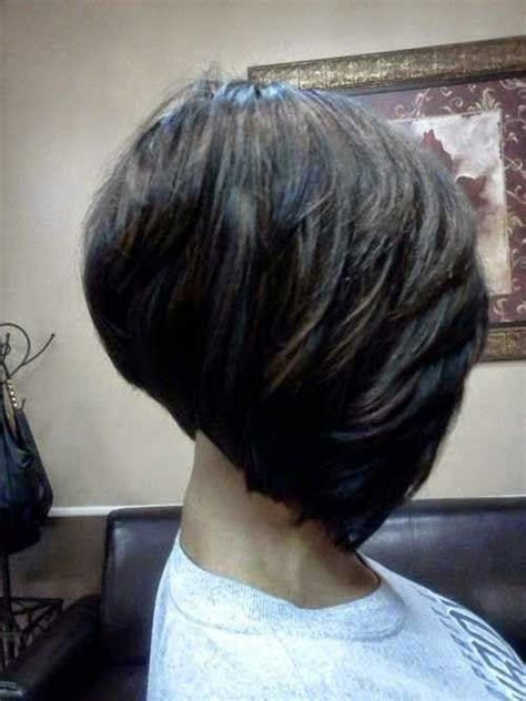 one side stack sassy bob bllack hair 10 layered bob hairstyles for black women bob hairstyles