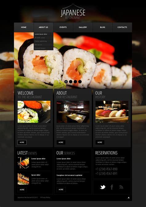 restaurant themes html seafood restaurant wordpress theme 41820