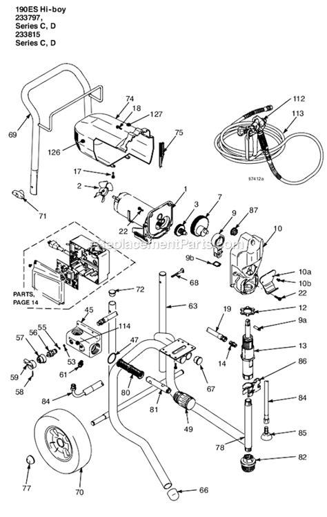 graco 395 parts diagram graco 190es parts diagram wiring diagrams repair wiring
