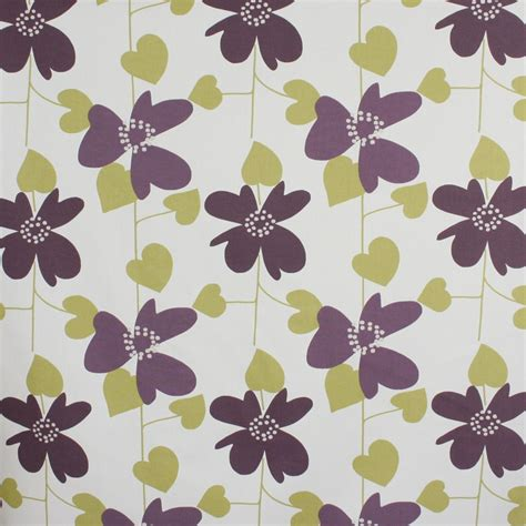 home decor fabric nature garden freya green
