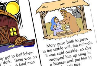 printable children s nativity story happy birthday jesus happy birthday and jesus on pinterest