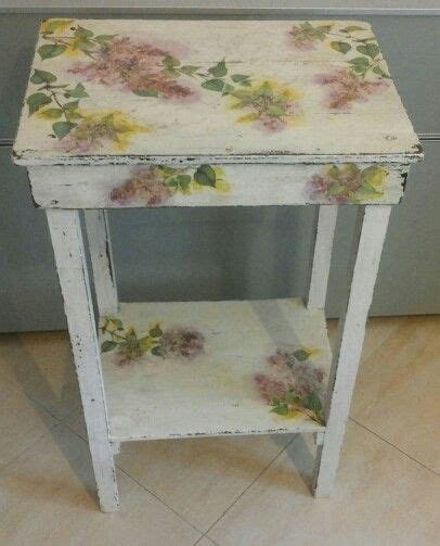 decoupage tavolo legno 25 best images about creativa mente on