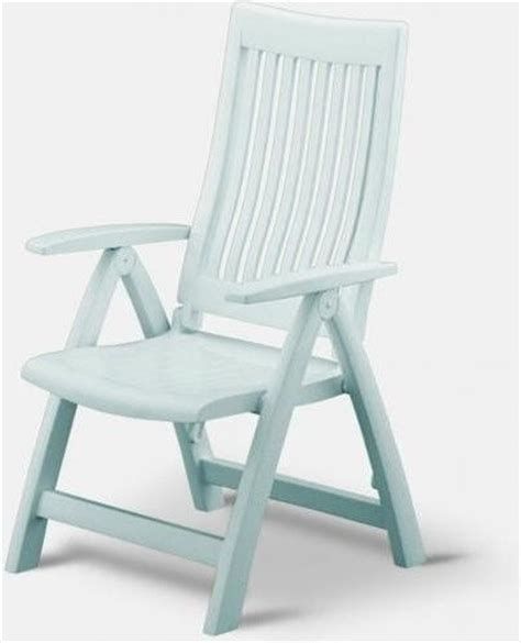 High Back Plastic Patio Chairs Kettler Roma Resin High Back Folding And Reclining Chair Modern Outdoor Folding Chairs By