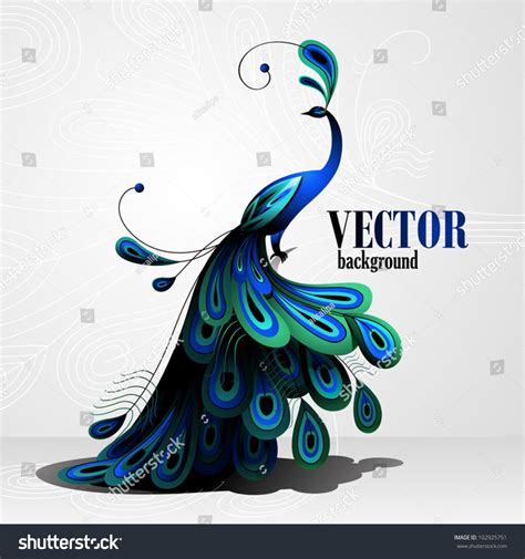 vector imagenes com peacock vector background 102925751 shutterstock