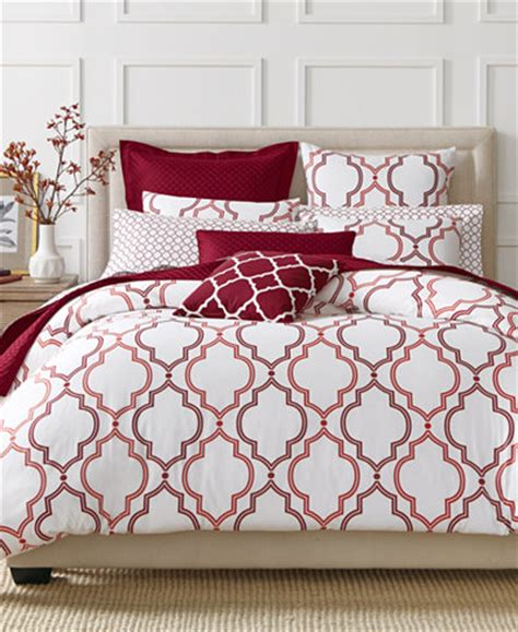 charter club bedding closeout charter club damask designs garnet ogee 3 piece