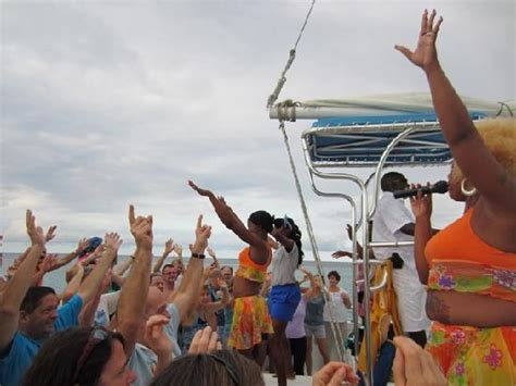 party boat jamaica yaman party boat picture of cool runnings catamaran