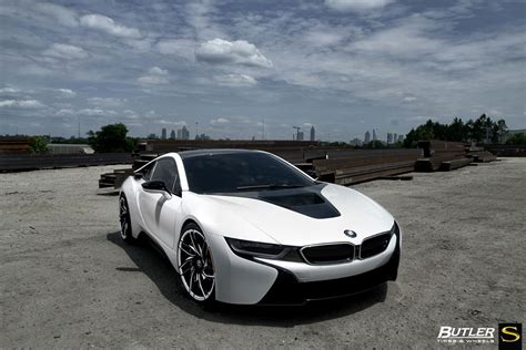 matte white bmw gallery matte white bmw i8 on savini wheels