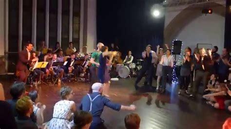 swing band bristol snippet of jam with big r big band bristol ny swing n