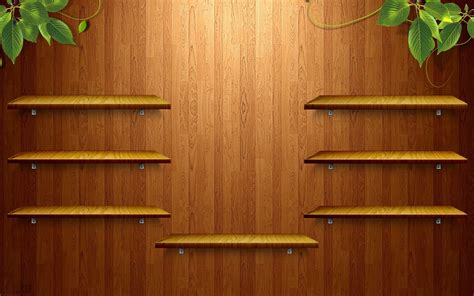 empty shelf wallpaper wooden shelves wallpaper