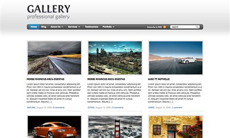 wordpress themes thumbnail gallery best wordpress gallery themes themes tube