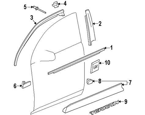 2013 Gmc Parts Diagram