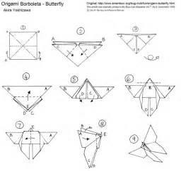 Folded Paper Butterfly Template - 109 melhores imagens sobre dobraduras e origame no