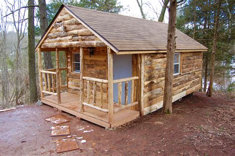 How To Build A Primitive Cabin by Primitive Cabin Cedar Lake Family Cground