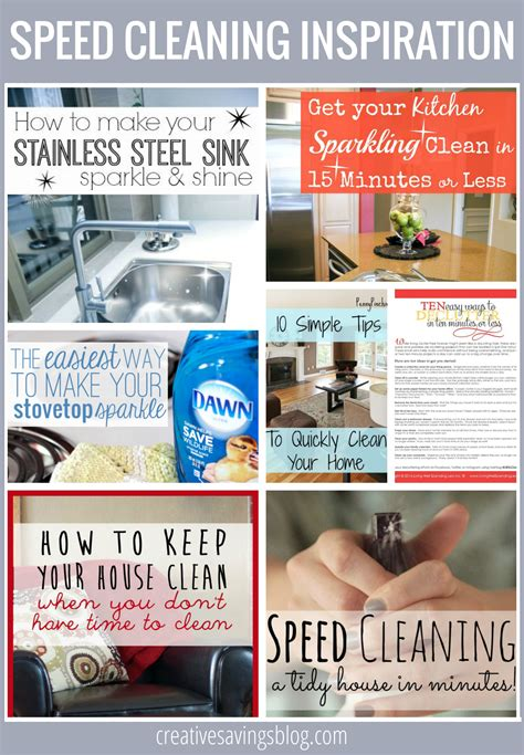 cleaning inspiration habit 2 create an evening up routine