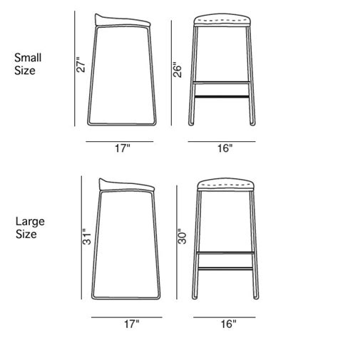 how to measure for bar stools bonaldo pilo modern bar stool by james bronte stardust